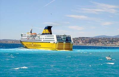 Corsica Sardinia Ferries Carga