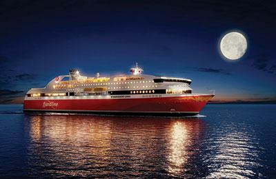 Fjordline Ferries Carga