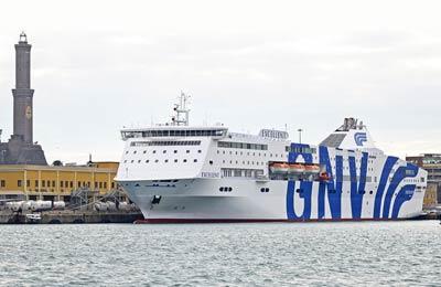 Grandi Navi Veloci Ferries Carga