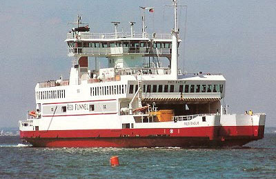 Red Funnel Ferries Carga